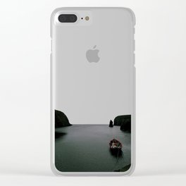 Over the Edge of the World Clear iPhone Case