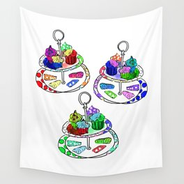 Oh, sweet! Cupcakes Wall Tapestry