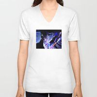 vertigo V-neck T-shirts featuring Vertigo by Danielle Tanimura