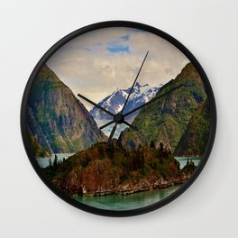 Tracy Arm Fjord Glacier, Juneau Wall Clock