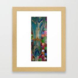 Mysterious Traveler... Framed Art Print