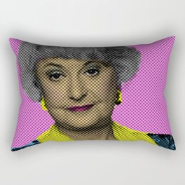 Bea Arthur: The Golden Girls Rectangular Pillow