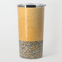 Sandpaper Stripe Travel Mug
