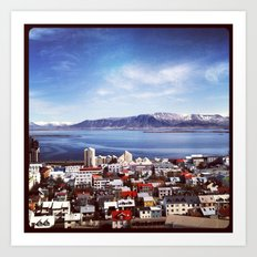 Reykjavik, Iceland Art Print