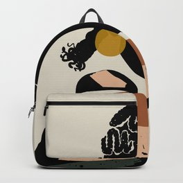 Black Hair No. 12 Backpack