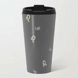 Leo Pattern Travel Mug