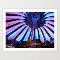 Lights of the Sony Center Art Print