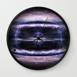 Galactic guts Wall Clock