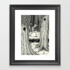 'Through The Forest' Framed Art Print