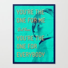Hey Girl Canvas Print