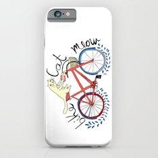 bike,cat, meow iPhone 6s Slim Case