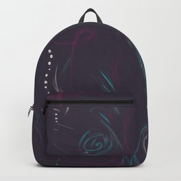 Abstract Owl/Butterfly Backpack