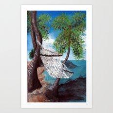 Relaxation Art Print