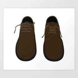 Pair Of Shoes Art Print