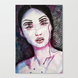 Intoxicated Verdict Canvas Print