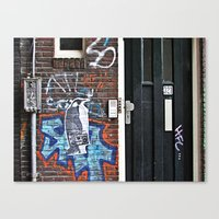 radio Canvas Prints featuring RADIO by S.s.m