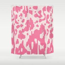 Modern Abstract Ikat pink #homedecor Shower Curtain