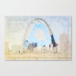 Gateway Arch, Saint Louis USA Canvas Print