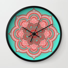 Mandala Lorana China Wall Clock