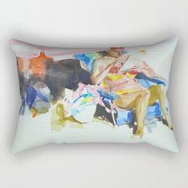 Sea sketches 2 Rectangular Pillow
