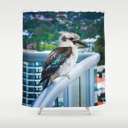 Kooky Kookaburra Shower Curtain