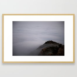 Lost in the Clouds Framed Art Print