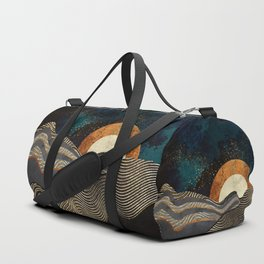 Gold & Silver Fields Duffle Bag