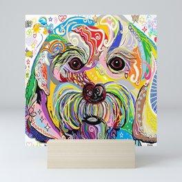 Maltese Puppy Mini Art Print
