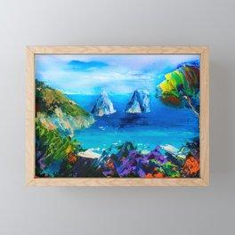CAPRI COLORS Framed Mini Art Print