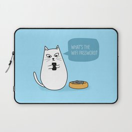Wifi Cat Laptop Sleeve