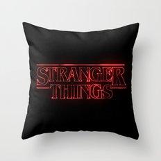Stranger Things Throw Pillow