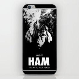 CULT OF HAM iPhone Skin