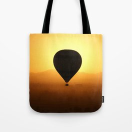 Balloon Over Valley of the Kings Tote Bag
