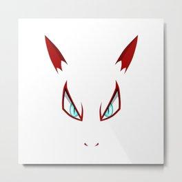 pokemonFace Metal Print