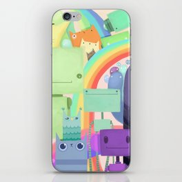 Who the What iPhone Skin