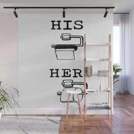 His and Hers TRUTH Wall Mural