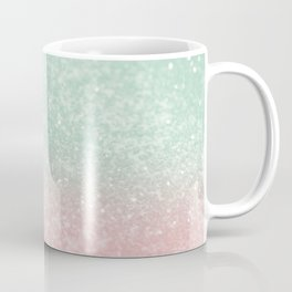 Pastel Summer Glitter #1 (Faux Glitter - Photography) #shiny #decor #art #society6 Coffee Mug