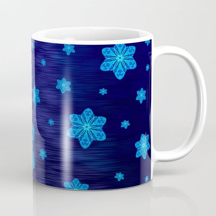 Snowy Cerulean Sea Coffee Mug