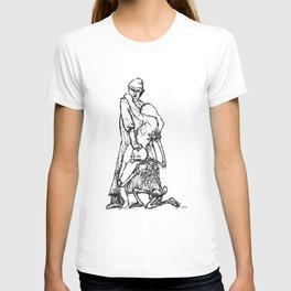 Der Artz, das Mädchen und der Tod  T-shirt
