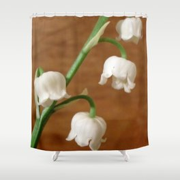 lily of the valley II Shower Curtain