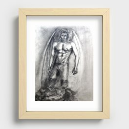 Lucifer II Recessed Framed Print