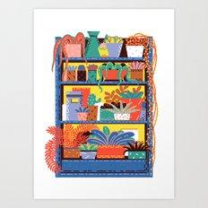 Shelving Units 03 Art Print