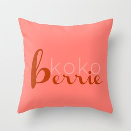 kkbp2 Throw Pillow