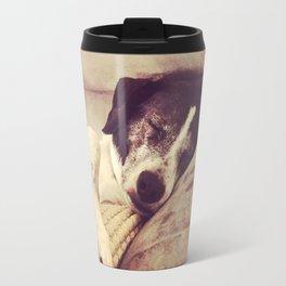 Dog Dreaming Travel Mug