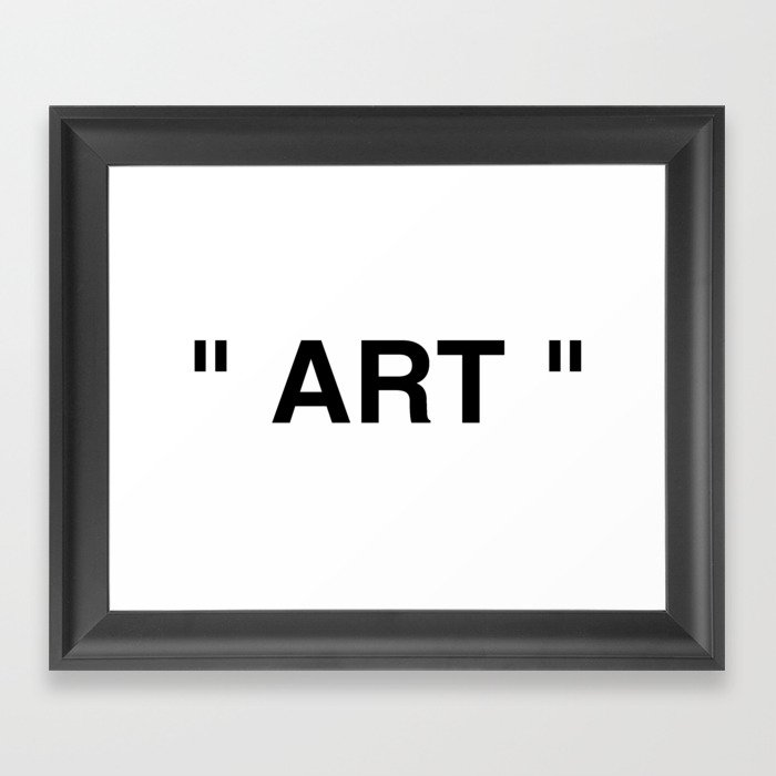 """ Art "" Gerahmter Kunstdruck"