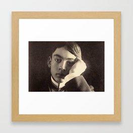 Kahlil Gibran Framed Art Print