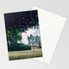 World Famous Historic Wollaton Hall Nottingham United Kingdom Britain Europe Ultra HD Stationery Cards