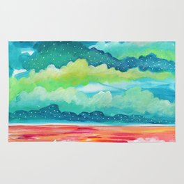 Abstract Seascape IV Rug