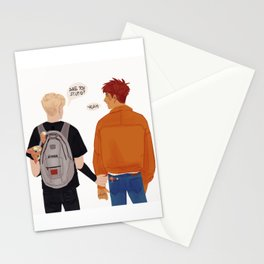 Andrew and Neil fanart Stationery Cards