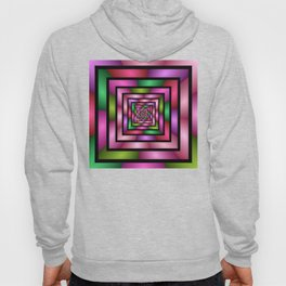 Colorful Tunnel 1 Digital Art Graphic Hoody